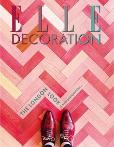 ELLE DECORATION UK   This month our lucky subscribers are treated to some pretty pink parquet from Stella McCartney's second London store.