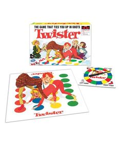 Winning Moves 1178 Classic Twister for sale online Twister Board Game, Netflix Games, Summer Gift Baskets, Self Regulation Strategies, Two Player Games, Vintage Board Games, Funny Games, Kids Toys