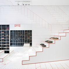 Interior design, Retail