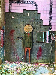 Streetart - Beelitz Heilstätten Fotot von CHRSWLF
