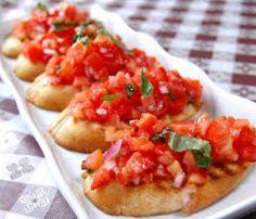 Bruschetta di pomodoro