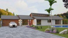 narrow lot 4 bedroom home design