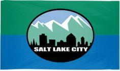 City of Salt Lake City Flags