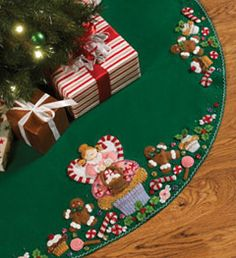 Bucilla ® Seasonal - Felt - Tree Skirt Kits