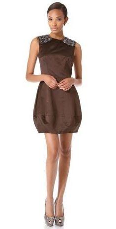 Vera Wang #designer #fashion #style #clothing #dress satin