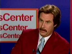 Anchorman's audition for ESPN...hysterical!