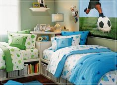 boys ikea bedrooms | boys bedroom soccer theme photo gallery go to ...