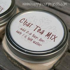 Liked - Instant Chai Tea Mix. I tripled the recipe