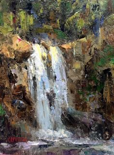 Art Talk - Julie Ford Oliver: Falling Water