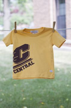 Off-Center Flying C Central Michigan Gold Tee