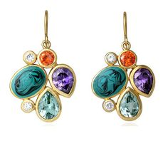 Isharya Cluster Earrings Love Love earings with that shinny look...