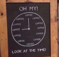 """Chalkboard """"clock"""""""