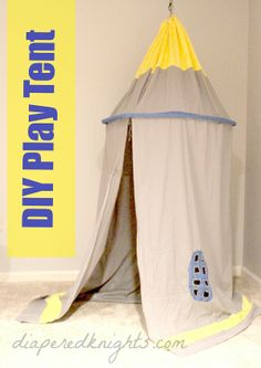 Play Tent - #funny #kids #howto