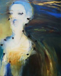 """Saatchi Art Artist Leena Nousiainen; Painting, """"L'Extace Éternelle ( according to The Scream by E.Munch)"""" #art"""
