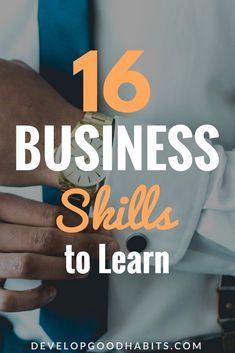 learn business skills today