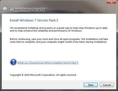 Microsoft will not launch Windows 7 Service Pack 2