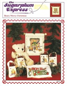 Beary Merry Christmas booklet