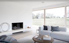 norm architects completes reydon grove farm house in suffolk Bungalows, Grove Farm, Wooden Cladding, Interior Minimalista, Home Pictures, Farmhouse Design, Architecture, Elle Decor, Contemporary