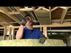 Easy do-it-yourself video for keeping noise and unwanted sound from traveling between floors and ceilings by insulating with Roxul Safe 'n Sound insulation.    For more videos and information, see: http://www.diywithroxul.com