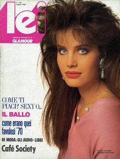 Lei cover, 1987 80's makeup & hair