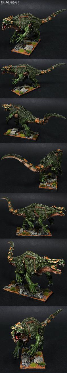 Lizardmen Carnosaur