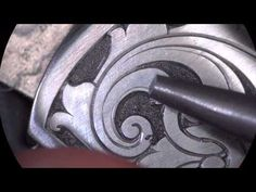 ▶ Engraving Scrollwork - Start to Finish by Sam Alfano - YouTube