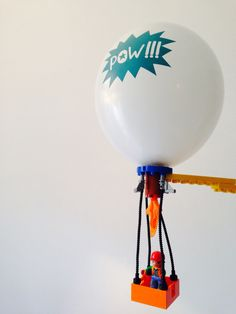 Lego hot-air balloon