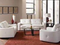 Jasmine Leather Sofa by Coaster - Hobos Warehouse