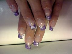 must like this style, 2nd time I pinned it. Image detail for -Fresh Nails Ideas for Spring & Summer | Nail Art Designs 2012