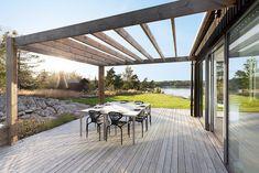Backyard Patio Designs, Pergola Designs, Deck Patio, Outdoor Furniture, Outdoor Decor, Outdoor Spaces, Balcony, Entrance, Cottage