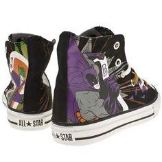 Junior Black & Purple Converse Allstar Print Batman at schuh