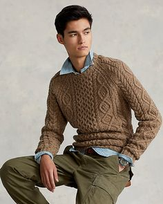 Jumper, Men Sweater, Timeless Fashion, Rugby, Wool Blend, Preppy, Knitwear, Personal Style, Polo Ralph Lauren