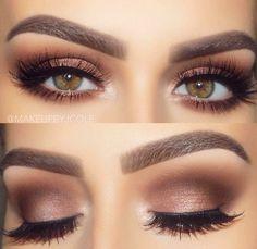 Makeup for hazel eyes Makeup For Brown Eyes, Eye Makeup For Hazel Eyes, Hazel