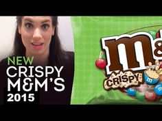 New Crispy M&M's 2015: Ms. Candy Blog's Candy Review #newcandy #crispyM&M's #crispyMandMs #crispyMandMs2015 #youtube