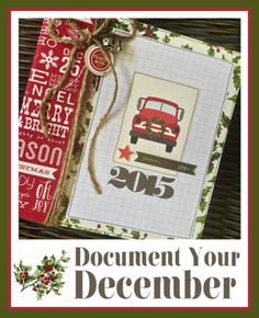 Document Your December Project Kit Available! Click pic for details :)