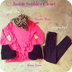 Inside Sophie's Closet  #fashion #style #ootd #pink