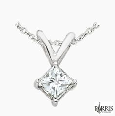 With the combination of this necklace and pendant looking at you will never be the same. Let these necklaces and pendants from Parris shine along with your smile.