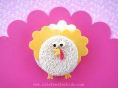Cute Food For Kids?: Thanksgiving Bento Lunch: Sandwich Turkey