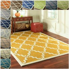 Rawhide Beige Rug (6'2 x 8') - Overstock™ Shopping - Great Deals on Alexander Home 5x8 - 6x9 Rugs