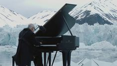 "Ludovico Einaudi performs an original piece ""Elegy for the Arctic"", on the Arctic Ocean to call for its protection, on June 17th, 2016. - Official Live (Greenpeace)"