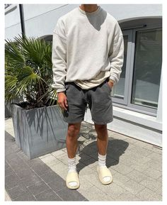 Stylish Mens Outfits, Summer Fashion Outfits, Casual Summer Outfits, Boys Fashion Summer, Spring Outfits For Men, Vintage Summer Outfits, Teenage Boy Fashion, Summer Men, Outfit Summer