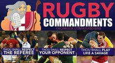 Thou shall follow the #Rugby #Commandments Tag a #teammate ! Follow…