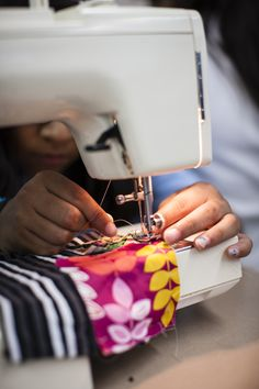 Get your hands on some sewing with LEAF Schools & Streets