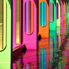rainbow doors-where do they lead?