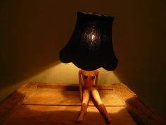 When a Barbie doll becomes a burlesque lamp... ++ More information at Les Pompadours website ! Idea sent by Karim Kaïdi !