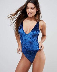 Shop ASOS Storm Velvet bodysuit at ASOS. a04088039