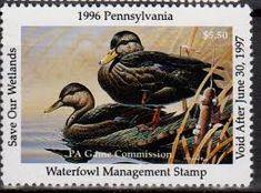 Resultado de imagem para ducks stamps