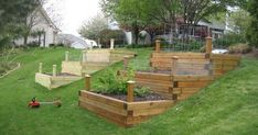 planting a vegetable garden on a slope - Google Search