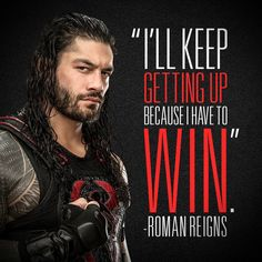 """From Roman's WWE Facebook Page:  Speak the truth, back it up.… """""""