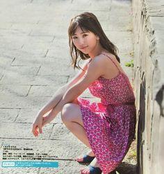 "SKE48 Haruka Kumazaki ""Mamotte Agetai"" on EX Taishu Magazine"